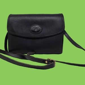 Vintage Leather Micheal Green Bag